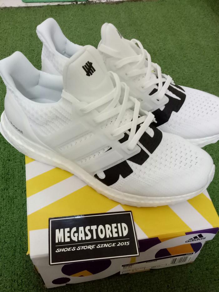 d52e3fe5c69d5f Jual Sepatu Adidas Ultraboost x Undefeated White UA ORIGINAL BASF ...