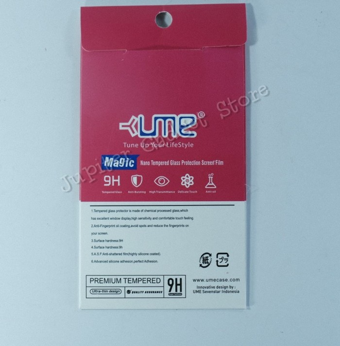 Ume Tempered Glass Huawei Honor 9 Lite - Clear