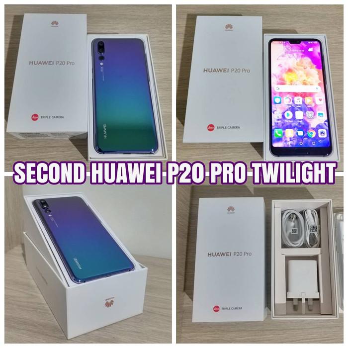 Jual Second Huawei P20 Pro Twilight Kota Batam Digiworld Tokopedia