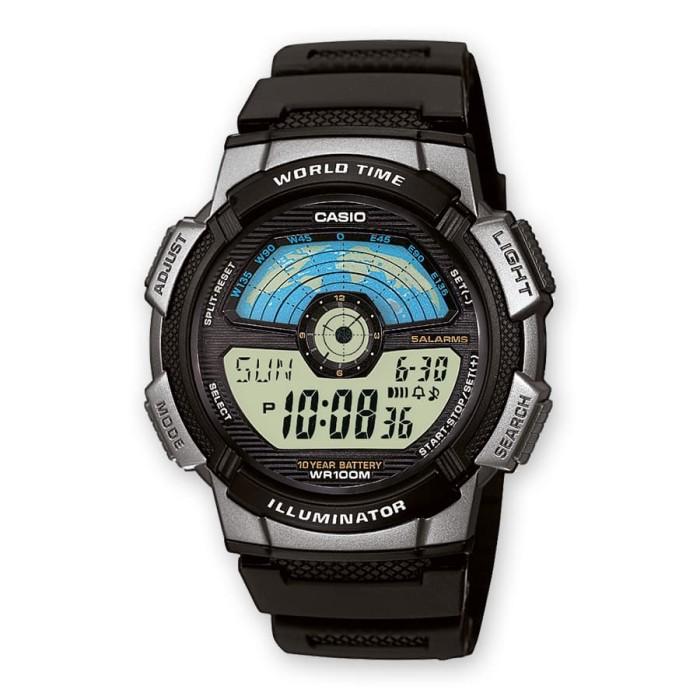harga Jam tangan pria casio ae-1100w-1avdf Tokopedia.com