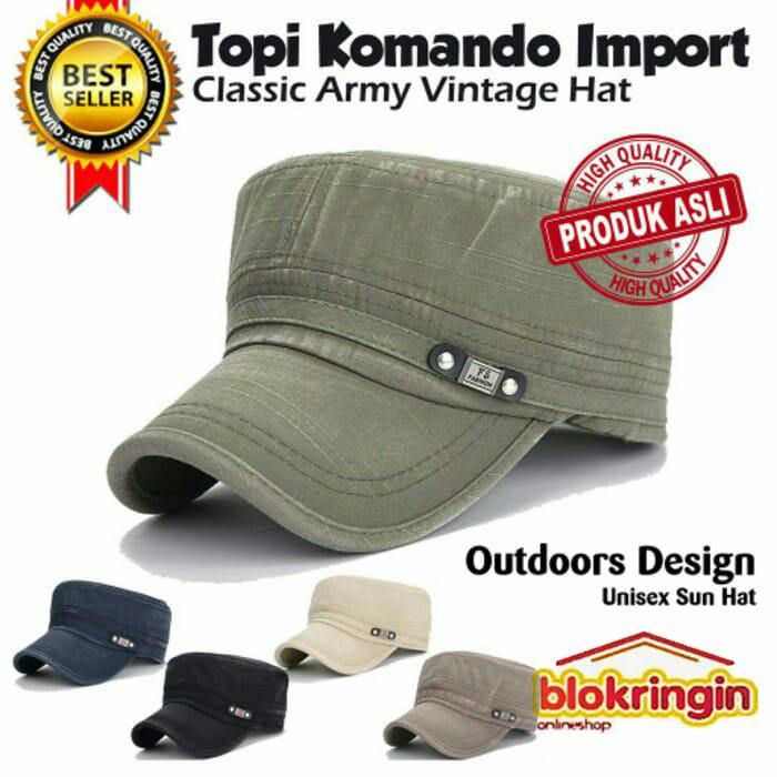 ... harga Topi komando import model classic army   topi snapback   topi army  Tokopedia.com 0c0b7b47f8