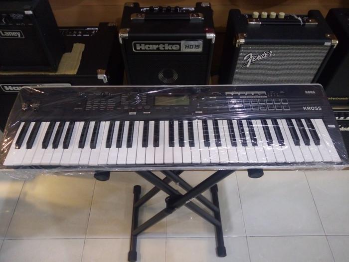 harga Korg kross 2 61-key synthesizer workstation free packing kayu Tokopedia.com