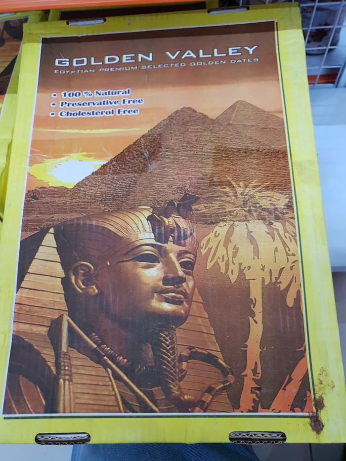 CTN10kg - KURMA GOLDEN VALLEY 10KG / EGYPTIAN DATES MANIS EMPUK ENAK