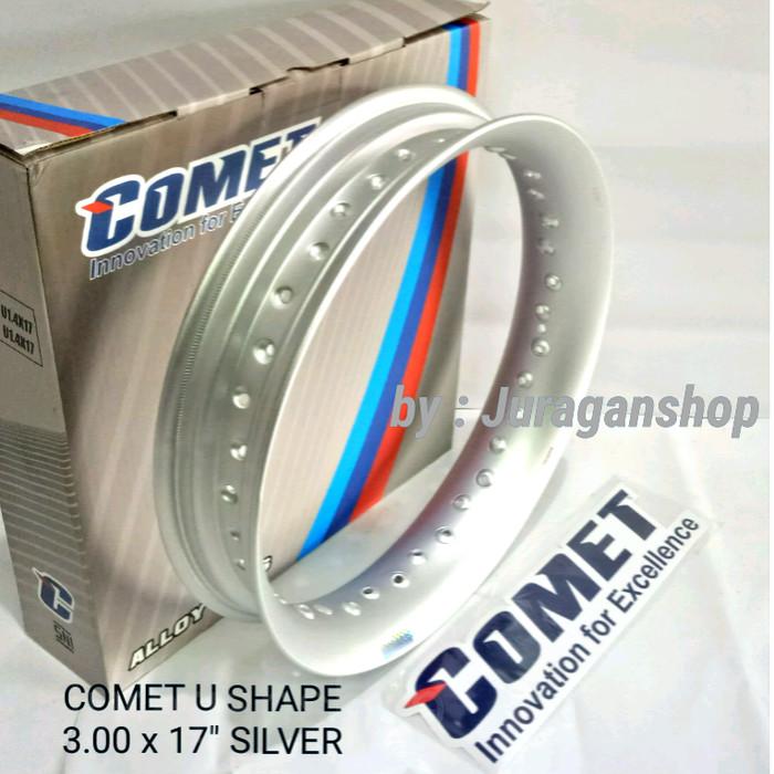 harga Velg comet u 3.00 x 17  (silver) Tokopedia.com