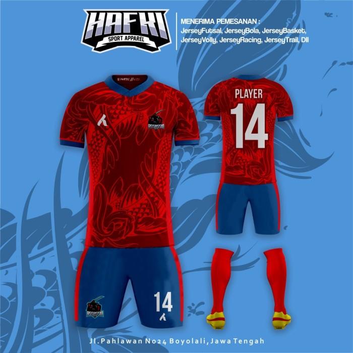 8521ad0ec Jual Jersey Custom Futsal Voli Basket Trail Dll Free Design - Kab ...