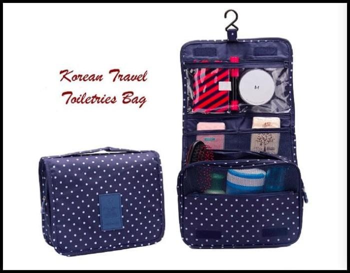 Korean Travel Toiletries Bag (Tas Untuk Tempat Kosmetik)