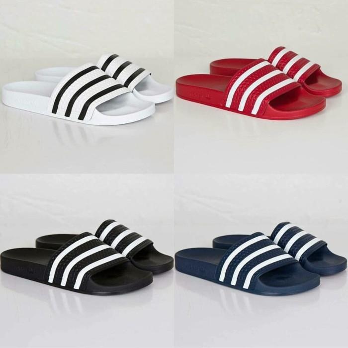 711b2f45b Jual Sandal Adidas Adilette Original Maroon - Maroon