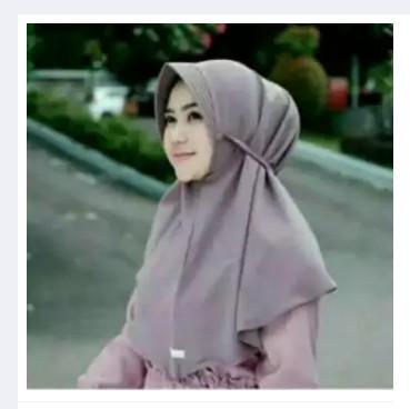 Jual Khimar Pet Polos Tali Kab Jombang Jiajia Hijab Tokopedia