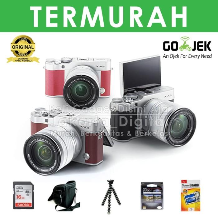 harga Jakarta digital kamera fujifilm x-a3 kit 16-50mm x a 3 - xa 3 - xa3 Tokopedia.com