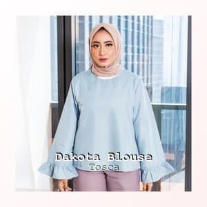 Jual Baju Atasan Wanita Casual Polos Model Terbaru 2018 Dakota