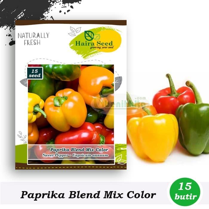 Foto Produk Benih-Bibit Cabe Paprika Blend Mix Color (Haira Seed) dari benihkita
