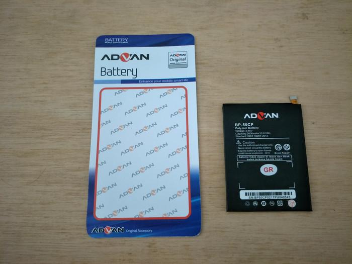 harga Baterai original 99% - advan i5e (bp-50cp) (2.600mah) Tokopedia.com