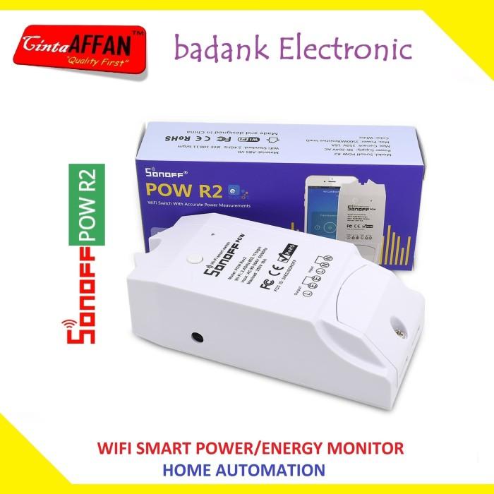 harga Itead sonoff pow r2 wifi power energy kwh monitor home automation Tokopedia.com