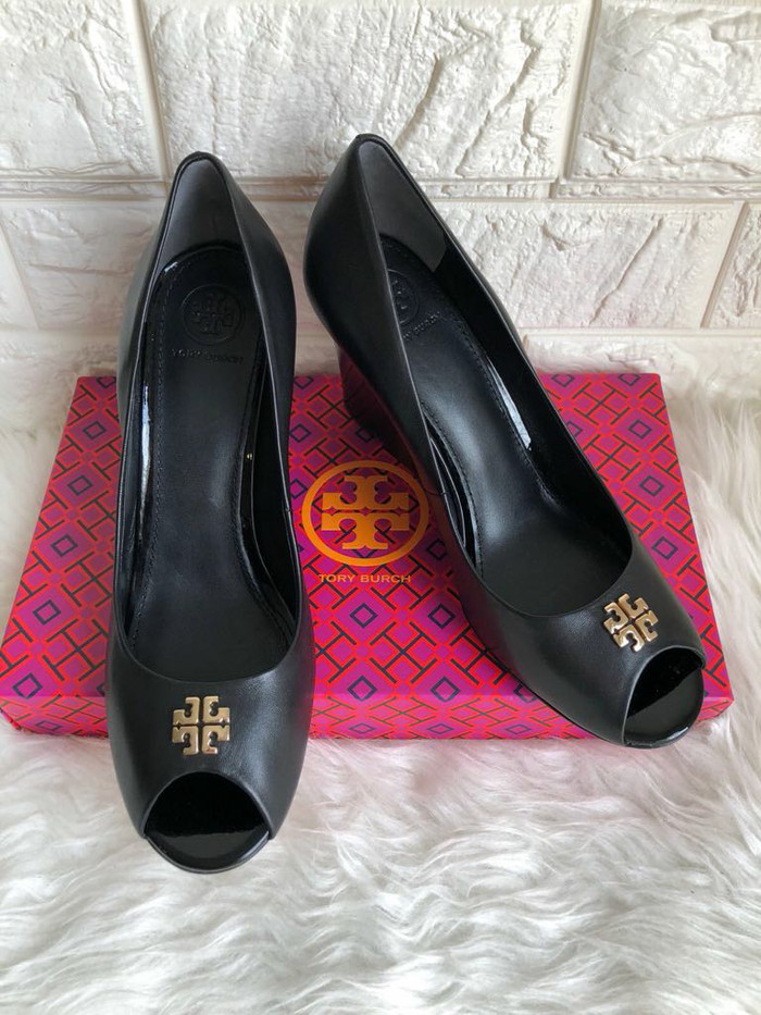 Jual Sepatu tory burch original   tory burch jolie wedge peep toe ... f4e2c39a66
