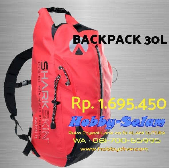 Jual SHARKSKIN PERFORMANCE BACKPACK 30L - Alat Diving Snorkeling Bag ... 1af3377d87d73