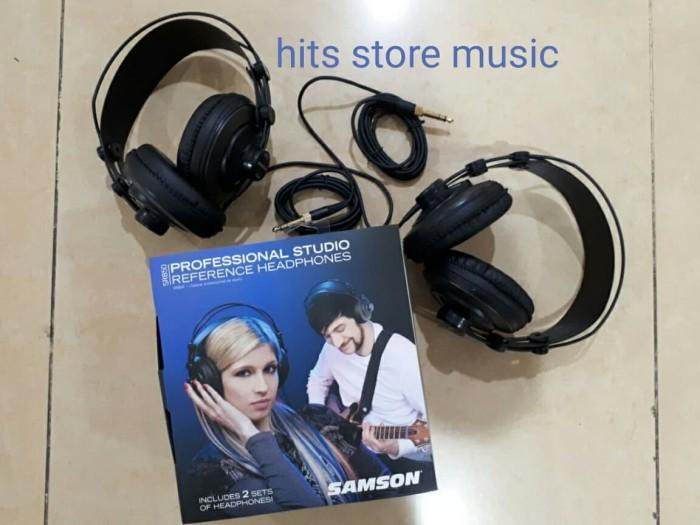 harga Samson sr850 (unpacking)  professional studio reference headphone Tokopedia.com
