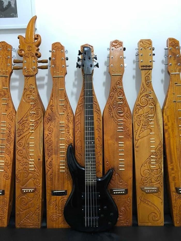 Jual Beli Gitar Bass Ibanez Soundgear Sdgr 5 String 5 Senar Hitam