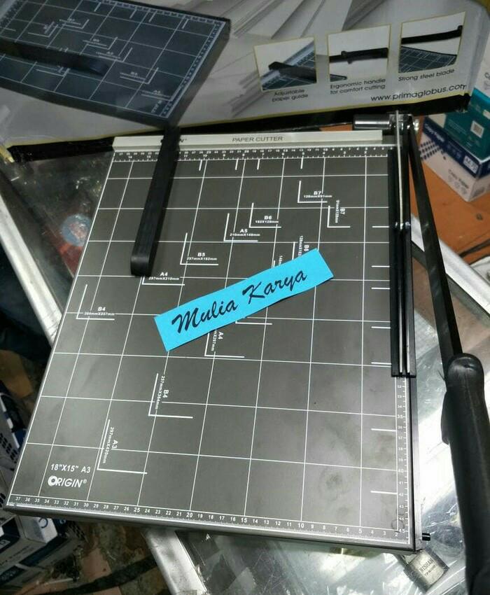harga Pemotong kertas a3 paper cutter origin a3r alat potong Tokopedia.com