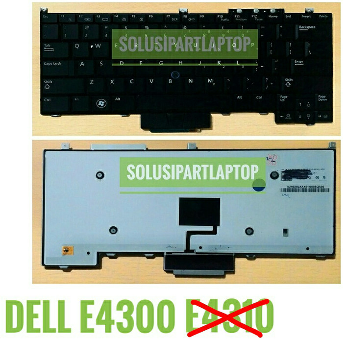 harga Keyboard dell latitude e4310 e4300 black backlite pointer Tokopedia.com
