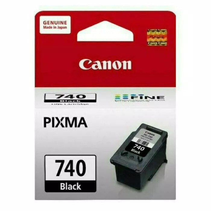 harga Original tinta hitam printer inkjet canon 740 black Tokopedia.com