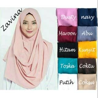 Instan Zafina [PROMO] Hijab / Jilbab Pashmina Grosir, Kerudung Terbaru