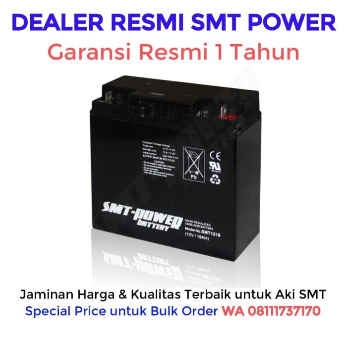 harga Aki ups smt 12v 18ah baterai ups / batere ups / accu ups / battery ups Tokopedia.com