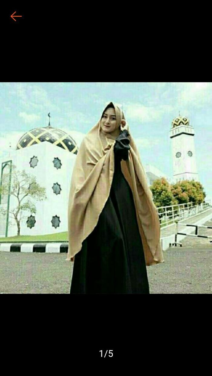 Hijab Khimar Pet Super Jumbo XXL