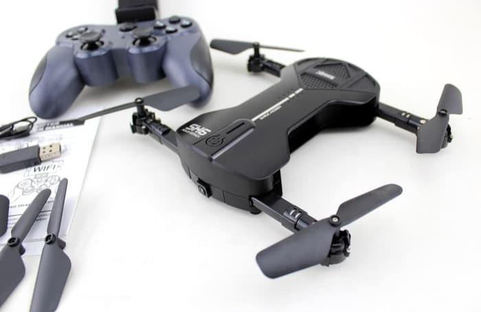 harga Rc drone sh6 black wifi fpv camera 2mp v jjrc h55 h37 visuo xs809hw Tokopedia.com