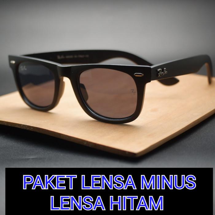 Jual Frame Kacamata Model Wayfarer Frame Kacamata Paket Lensa Minus ... 616364e598