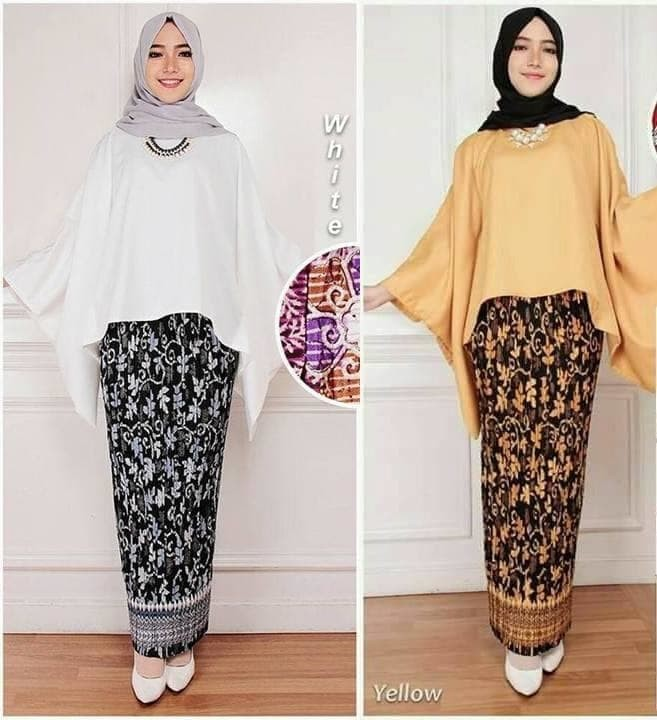 Jual Baju Terbaru Set Kebaya Modern Kebaya Muslimah Modern Setelan Kebaya Dki Jakarta Er Rezeki Tokopedia