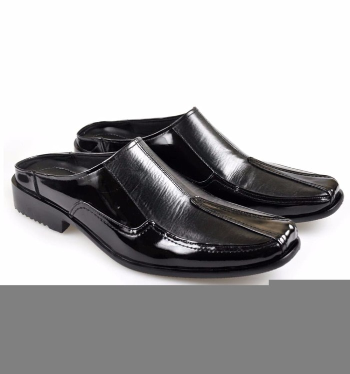 Jual BRANDED sandal sepatu pria formal sandal bustong pantofel kulit ... 6246c17cef