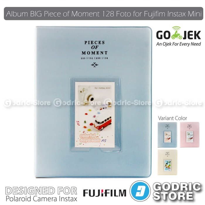 harga Album big piece of moment 128 foto fujifim instax mini 8/9/90/sp-2 etc Tokopedia.com