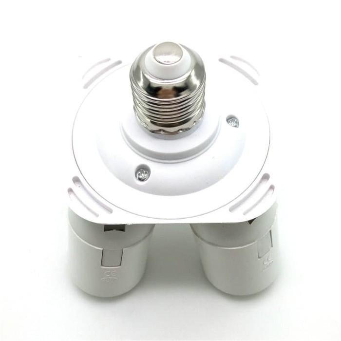 harga Fitting e27 cabang 4 lampu bohlam studio softbox Tokopedia.com