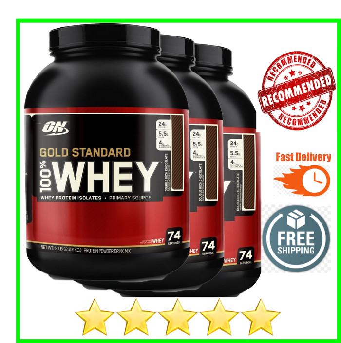 harga Whey gold standard 5 lbs 5lbs on wgs optimum nutrition Tokopedia.com