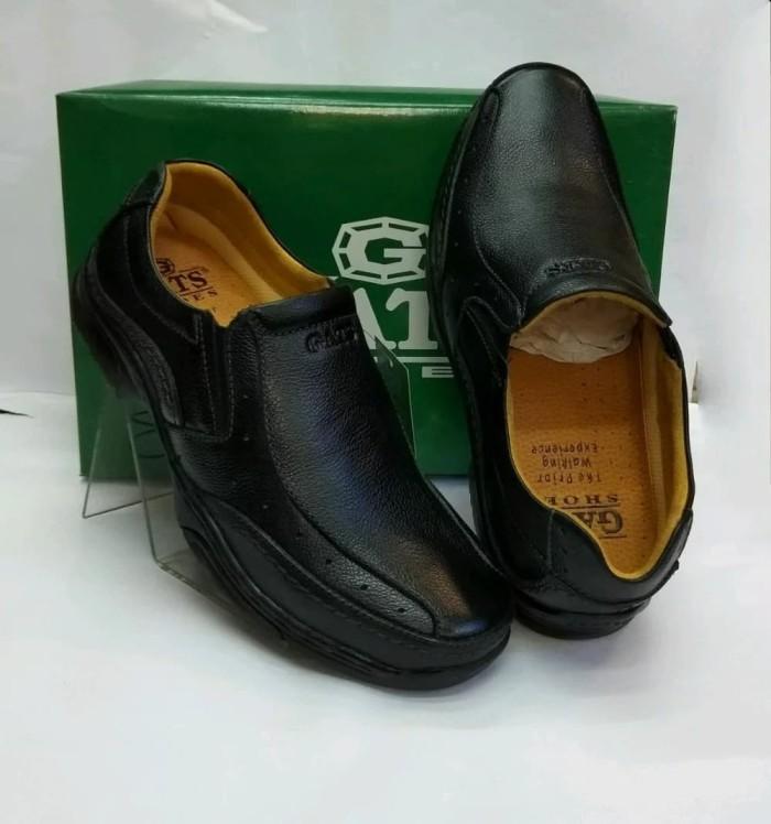 harga Sepatu kulit gats mp2608 - black Tokopedia.com