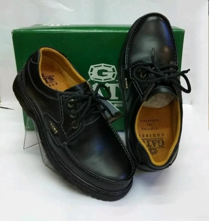 harga Sepatu kulit gats le0605 - black Tokopedia.com