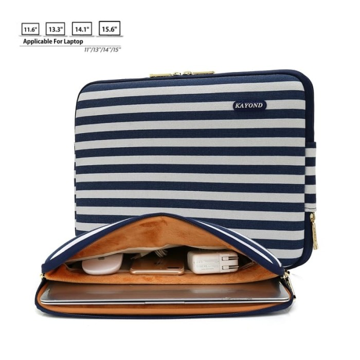 Foto Produk Waterproof Sleeve/Bag for Macbook Air,Pro,Retina 11-13inch (Blue) - 14 dari 24HoursShop