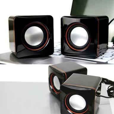 Foto Produk speaker komputer laptop murah - Hitam dari fusion21