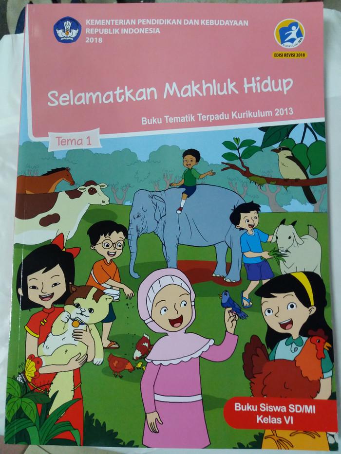 Jual Buku Tematik Sd Kelas 6 Tema 1 Selamatkan Makhluk Hidup Jakarta Pusat Giri Pustaka Tokopedia