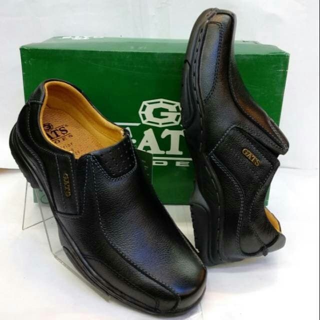 Jual Sepatu kulit gats mp 2601 black. original by GATS - Hitam e83115ee1d