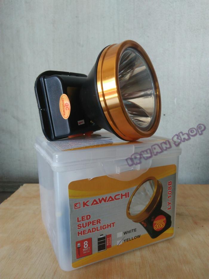 harga Senter kepala kawachi 8 watt ly-108b Tokopedia.com