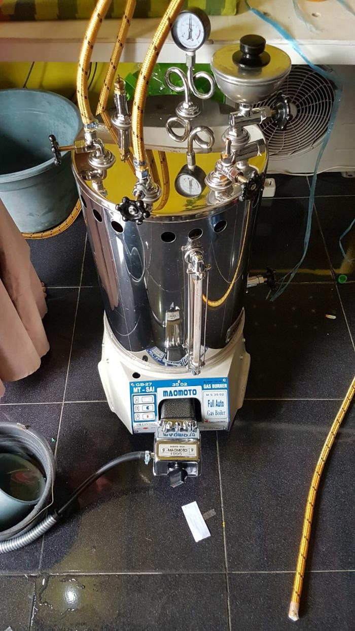 Jual Setrika Uap Boiler Gas Laundry Maomoto 25 Liter Jakarta Timur 52laundry Tokopedia