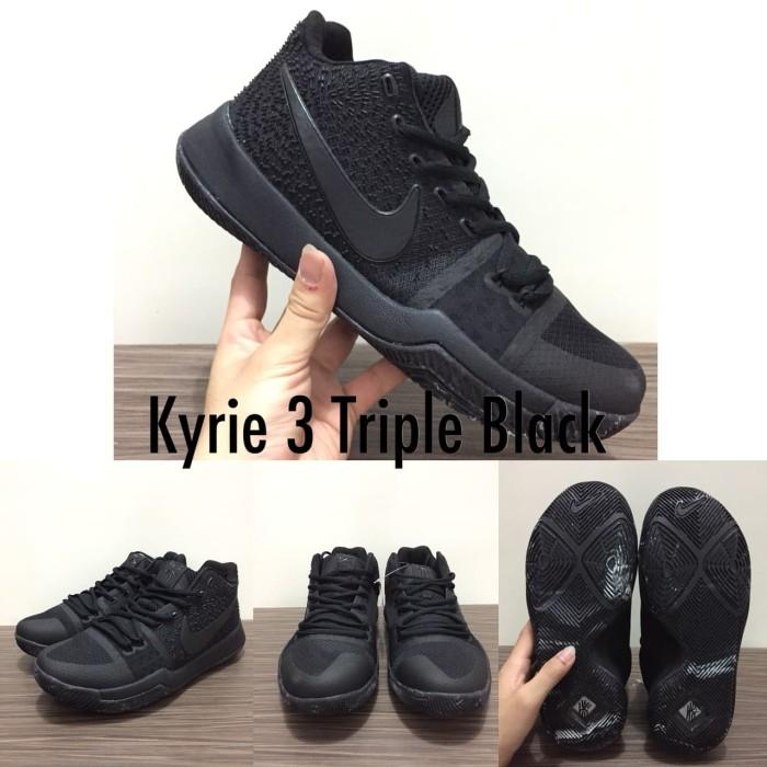 917a3f36682e Jual Sepatu Basket Nike Kyrie 3 Black Ice Hitam Putih - Kota Batam ...