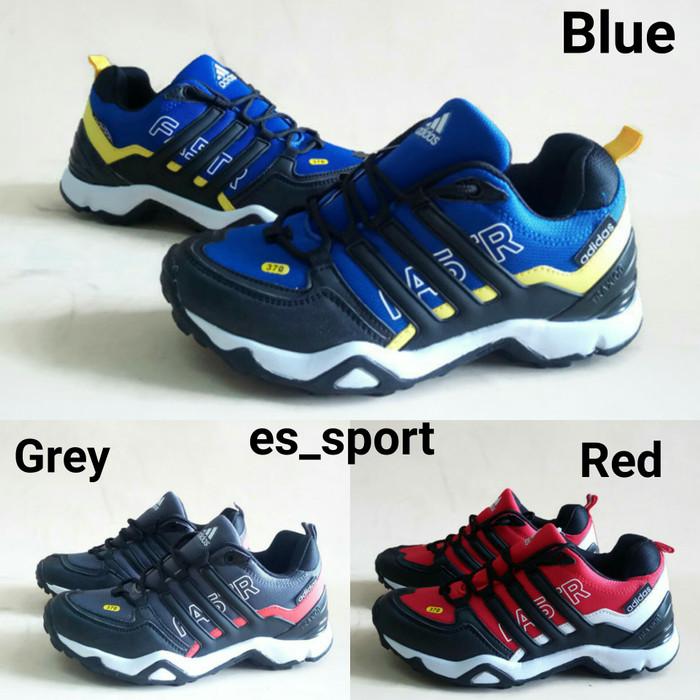 harga Sepatu adidas terrex faster cowok lari fastr pria hiking gunung murah Tokopedia.com