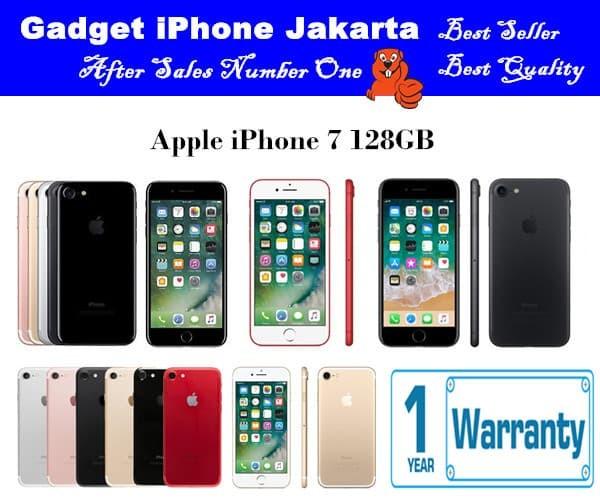 Apple iphone 7 128GB - Original Bergaransi - Merah