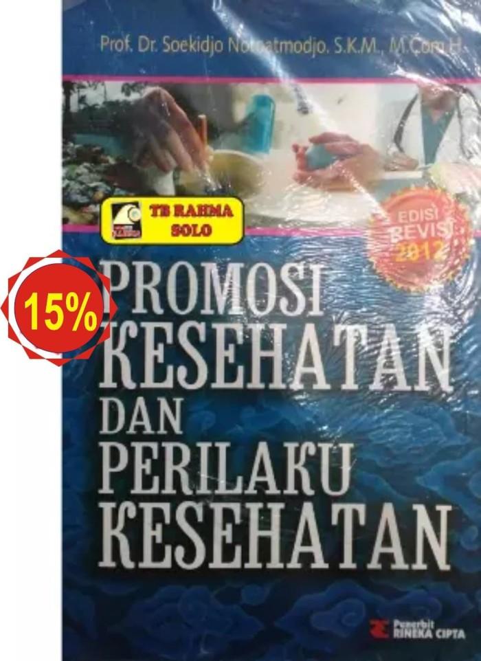 Jual Promosi Kesehatan Dan Perilaku Kesehatan Kota Yogyakarta Toko Buku Rahma Tokopedia