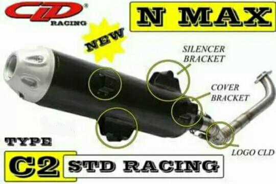 Foto Produk Knalpot yamaha NMAX - N MAX standar racing CLD C2 dari heryde
