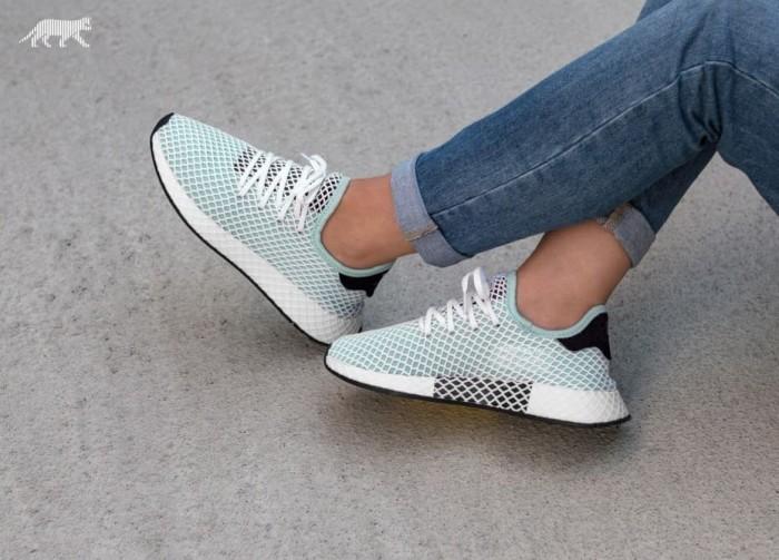 8283e078d008b Jual Adidas Deerupt Runner Ash Green Core Black - sneakersslovers ...
