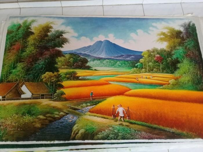 51 Koleksi Lukisan Pemandangan Alam Tanpa Warna HD
