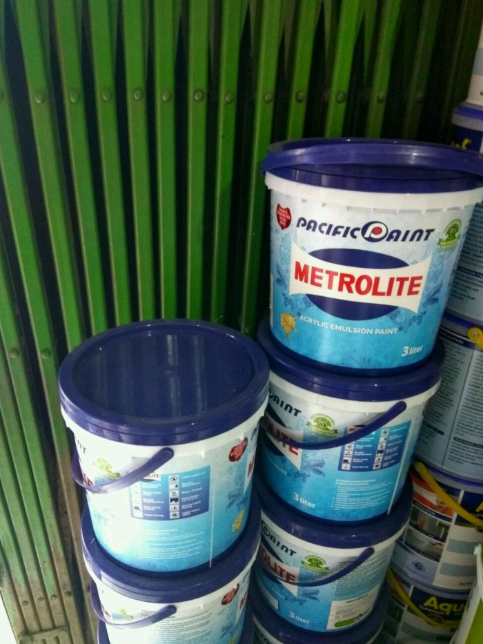 Jual Cat Tembok Metrolite 3 Liter ( Hanya Melayani Via ...